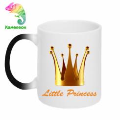 Кружка-хамелеон Little Princess
