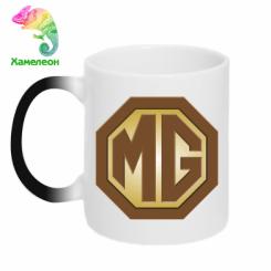 Кружка-хамелеон MG Cars