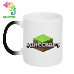 Кружка-хамелеон Minecraft Land