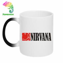 Купити Кружка-хамелеон Nirvana смайл