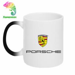 Купити Кружка-хамелеон Porsche