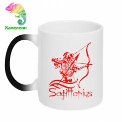 Купити Кружка-хамелеон Sagittarius (Стрілець)