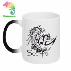 Купити Кружка-хамелеон Scorpio (Скорпіон)