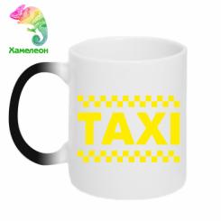 Купити Кружка-хамелеон TAXI