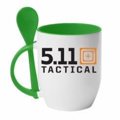 Купити Кружка з керамічною ложкою 5.11 tactical