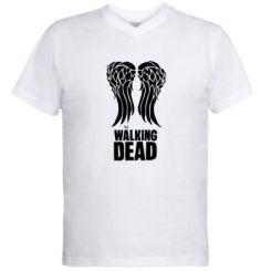 Чоловічі футболки з V-подібним вирізом Крила Деріла