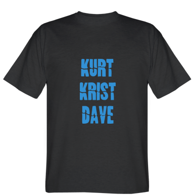 Футболка Kurt Krist Dave