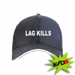 Дитяча кепка Lag kills