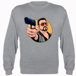 Реглан Лебовськи з пістолетом