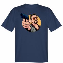 Футболка Лебовськи з пістолетом