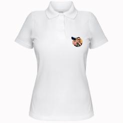 Жіноча футболка поло Лебовськи з пістолетом