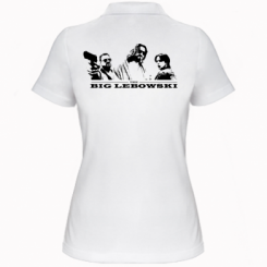Жіноча футболка поло Lebowski Team