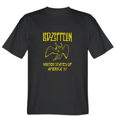 Футболка Led Zeppelin United States of America 77
