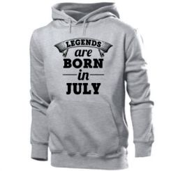 Толстовка Legends are born in July
