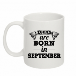 Купити Кружка 320ml Legends are born in September