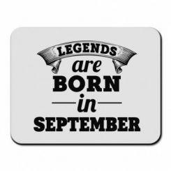 Купити Килимок для миші Legends are born in September