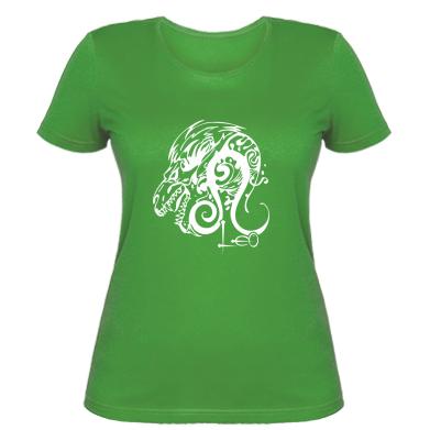 Купити Жіноча футболка Leo (Лев)
