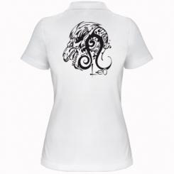 Купити Жіноча футболка поло Leo (Лев)