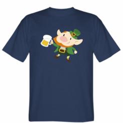 Футболка Leprechaun with beer