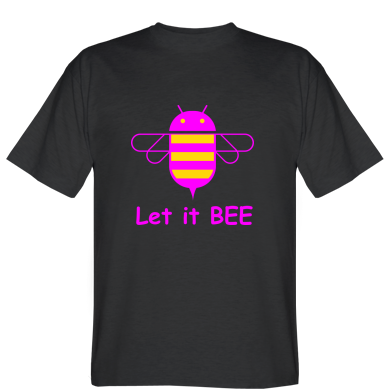 Футболка Let it BEE Android