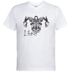 Купити Чоловічі футболки з V-подібним вирізом Ваги (Терези)