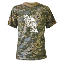 Купити Камуфляжна футболка Особа