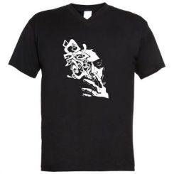 Купити Чоловічі футболки з V-подібним вирізом Особа