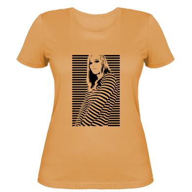 Купити Жіноча футболка Line Girl