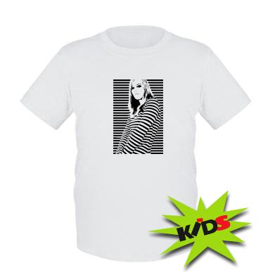 Купити Дитяча футболка Line Girl