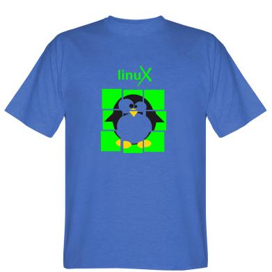 Футболка Linux pinguine