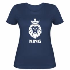 Жіноча футболка Lion King