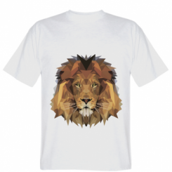 Футболка Lion Poly Art