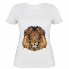 Жіноча футболка Lion Poly Art