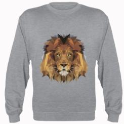 Реглан Lion Poly Art