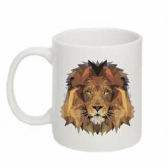 Кружка 320ml Lion Poly Art