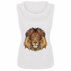 Майка жіноча Lion Poly Art