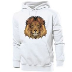 Толстовка Lion Poly Art