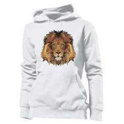Толстовка жіноча Lion Poly Art