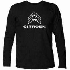 Купити Футболка з довгим рукавом Логотип Citroen