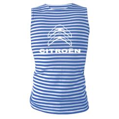 Купити Майка-тільняшка Логотип Citroen