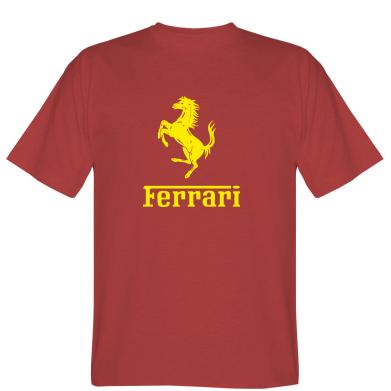 Футболка логотип Ferrari