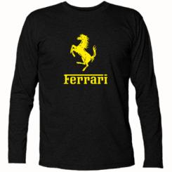 Купити Футболка з довгим рукавом логотип Ferrari