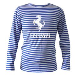 Купити Тільняшка з довгим рукавом логотип Ferrari