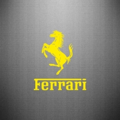 Купити Наклейка логотип Ferrari