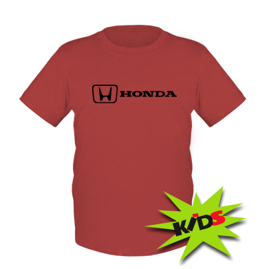 Купити Дитяча футболка Логотип Honda