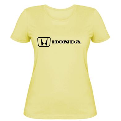 Купити Жіноча футболка Логотип Honda