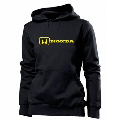 Купити Толстовка жіноча Логотип Honda