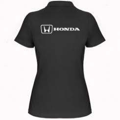 Купити Жіноча футболка поло Логотип Honda