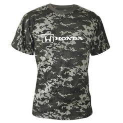 Купити Камуфляжна футболка Логотип Honda