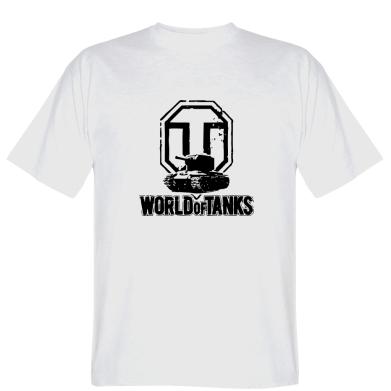 Футболка Логотип World Of Tanks